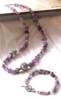 Southwestern Amethyst jewelry online wholesale amethyst jewelry set