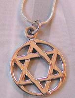 Silver body jewelry wholesaler wholesale celtic star pendant